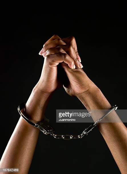 Handcuffed Hände