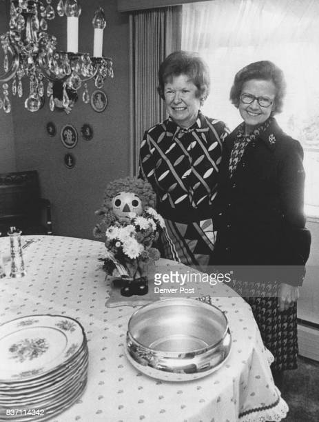 HandDressed Dolls To Be Displayed Mrs John B Hayden left and Mrs George Siersma are members of the Metropolitan Auxiliary of the Salvation Army which...
