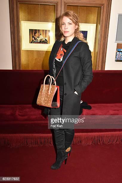 Hande Kodja attend the Gala de L'Espoir 2016 at Theatre du Chatelet on November 14 2016 in Paris France
