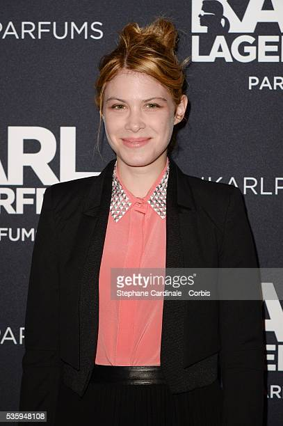 Hande Kodja attends the Karl Lagerfeld New Perfume launch party at Palais Brongniart in Paris