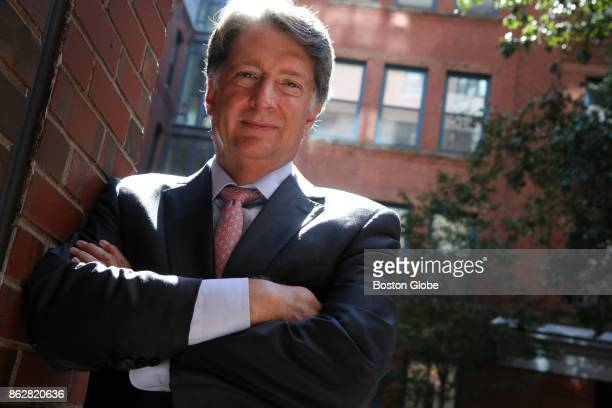 Handel and Haydn Society President and CEO David Snead poses for a portrait outside his office in Boston on Sep 16 2016