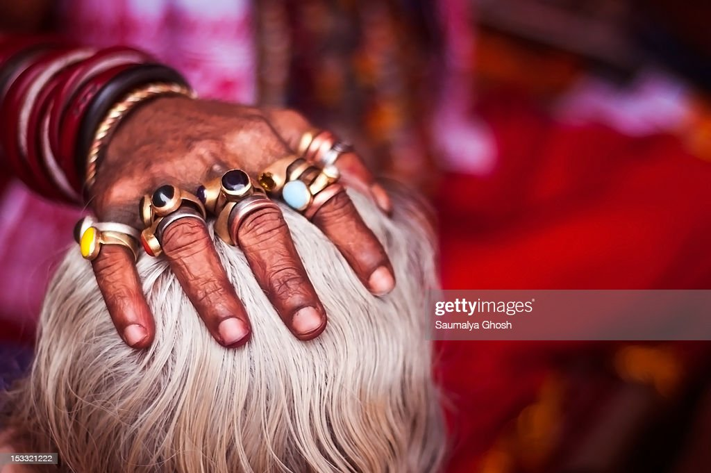 Handful of blessings : Stock Photo