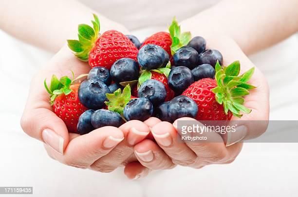 Poignée de fruits