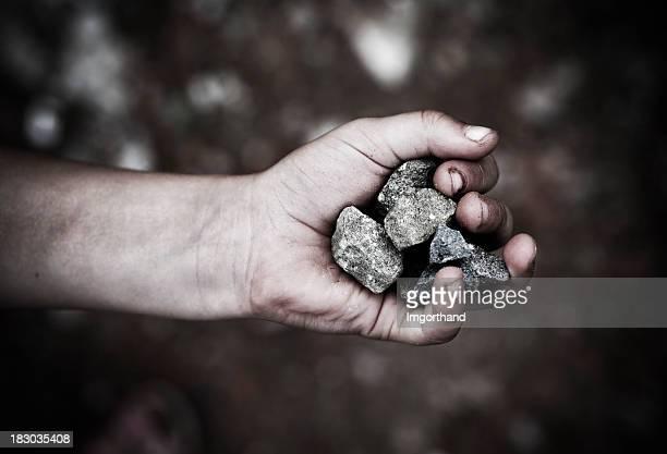 Handvoll Steine