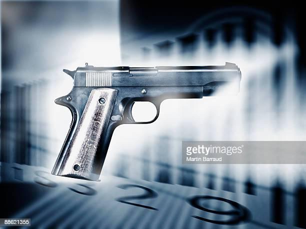 Pistolet et bar code