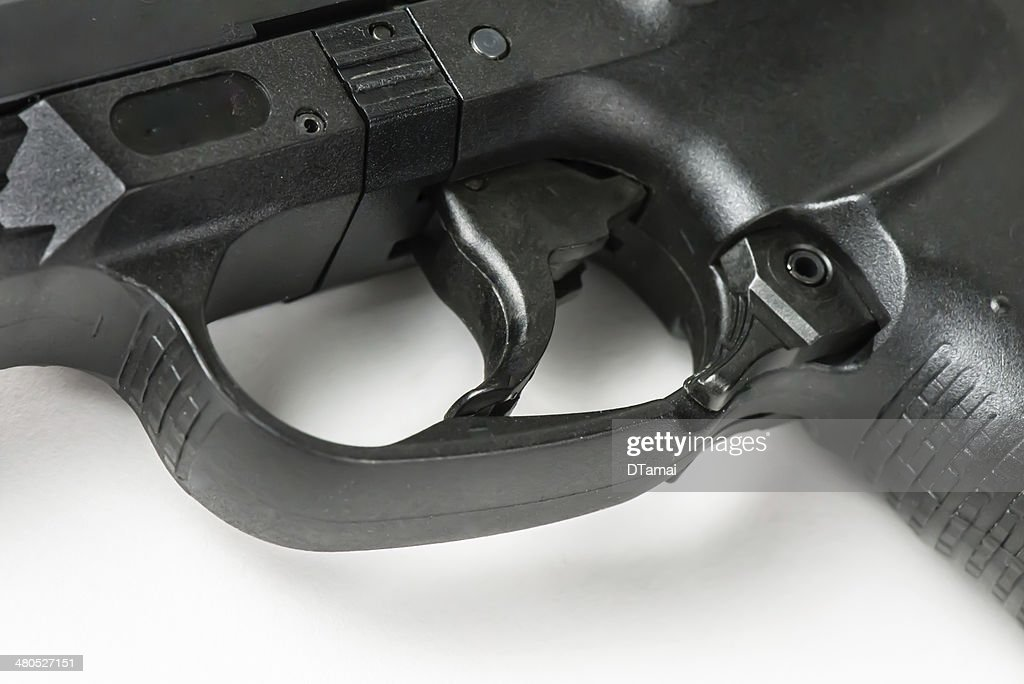 Handgun Trigger : Stock Photo
