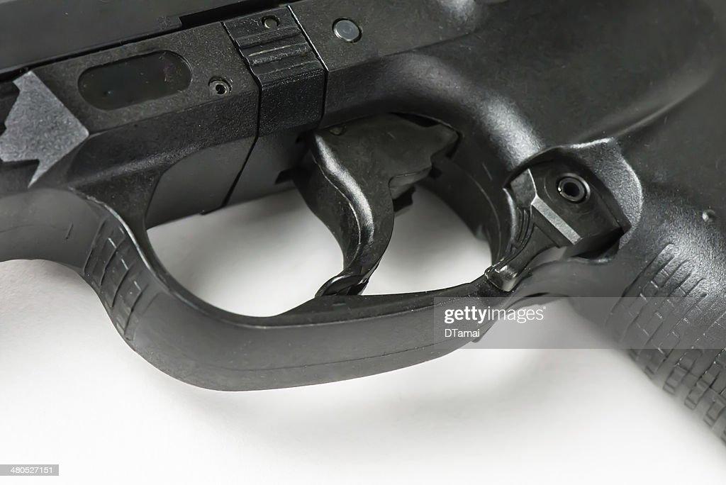 拳銃トリガ : ストックフォト
