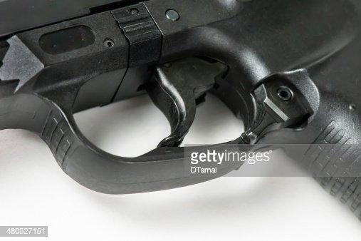 Handgun Trigger : Stock Photo