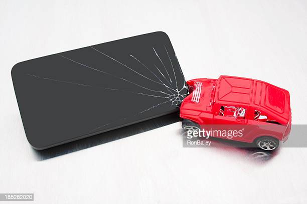 Dispositif distrait Accident de voiture