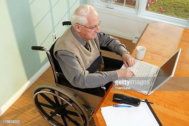 senior accessible aux personnes à mobilité réduite