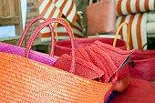 Handicraft straw bag