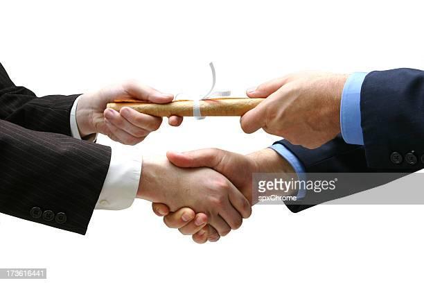 Handing Certificate