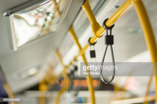 Handle in the public transport