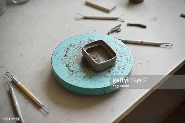 Handmade ceramic works