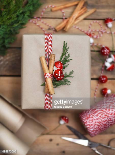 Handmade Christmas Package