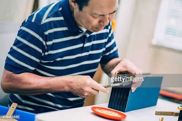 日本の職人の手作り