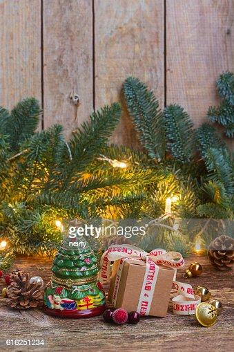 Handmade gift boxes : Stock Photo