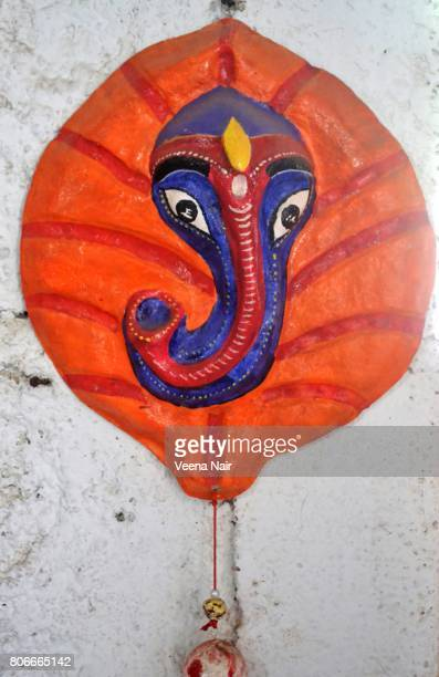 Handmade Lord Ganesha made out of paper mache-Eco friendly