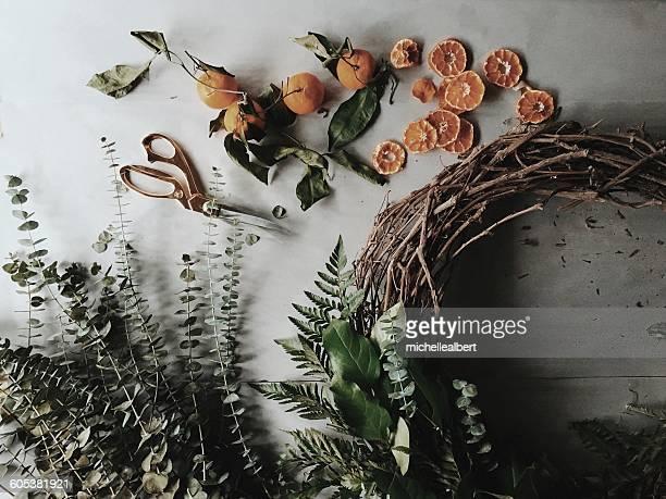 Handmade Rustic Christmas Wreath