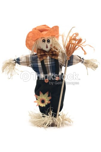 Handmade Scarecrow Stock Photo Thinkstock