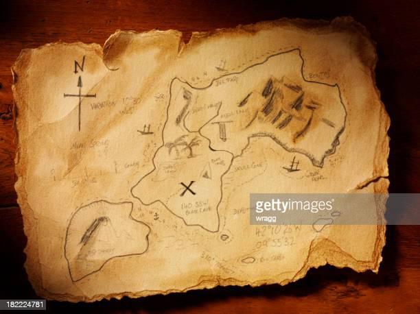 Handmade Treasure Map