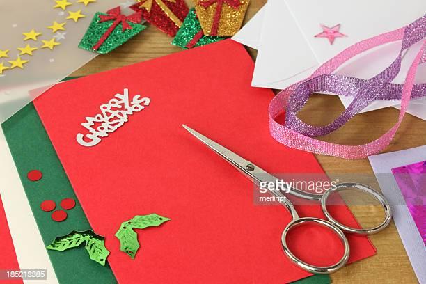 Handmaking クリスマスカード
