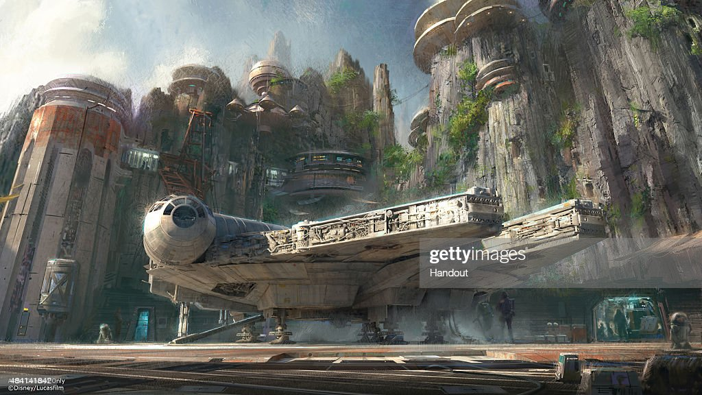 Handout image provided by Disney Parks Walt Disney Company Chairman and CEO Bob Iger announced at D23 EXPO 2015 that Star Warsthemed lands will be...