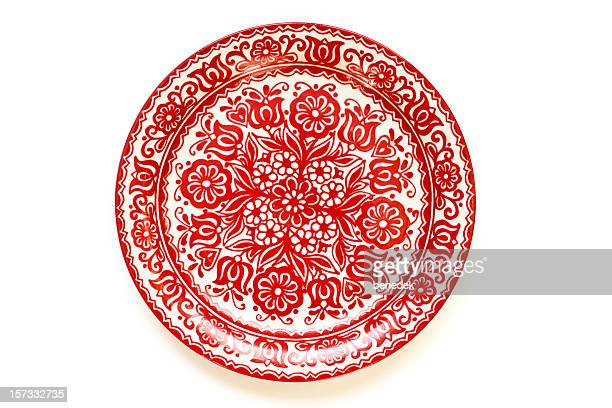 Hand-painted Hungarian Plate