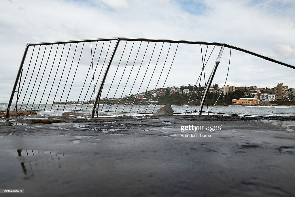 Wild weather across nsw causes widespread damage getty for Pool show sydney