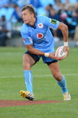 Handre Pollard of Blue Bulls during the Vodacom Cup Quarter Final match between Vodacom Blue Bulls and Eastern Province Kings at Loftus Versveld on...