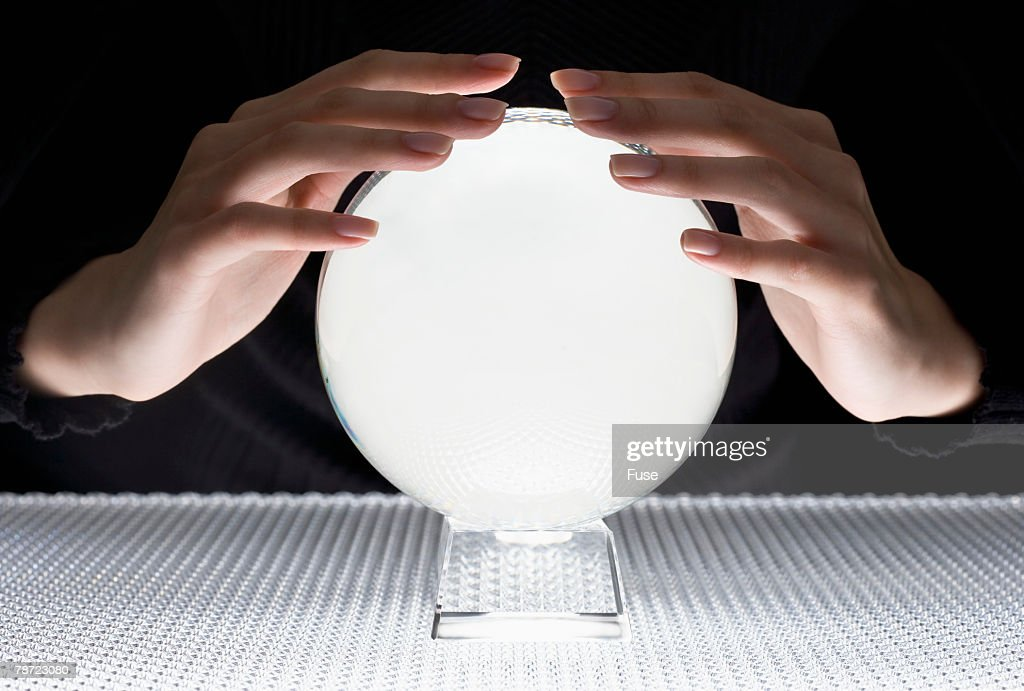 Hands by Crystal Ball