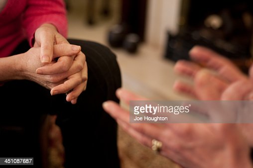 Hands - Counselling and Support : Stock Photo