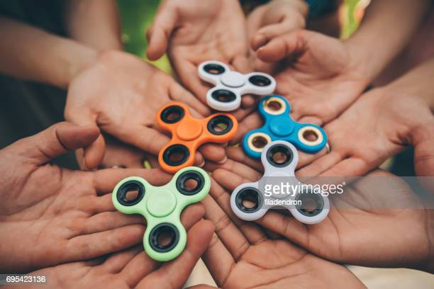 Hände halten zappeln Spinner