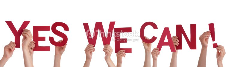 Hands holding yes we can stock photo thinkstock for Bett yes we can