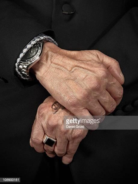 hands of a man