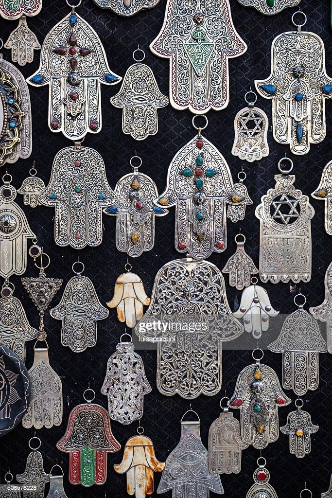 Hands of Fatima, islamic symbol : Stock Photo