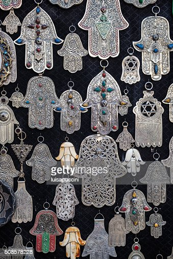 Hands of Fatima, islamic symbol : Stock Photo