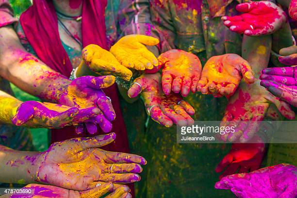 Hands of Holi