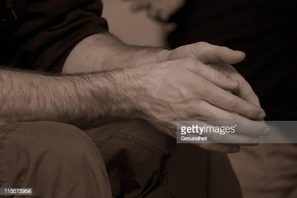 Hände der Gebete