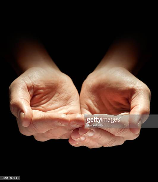 hands cupped stock photos and pictures getty images