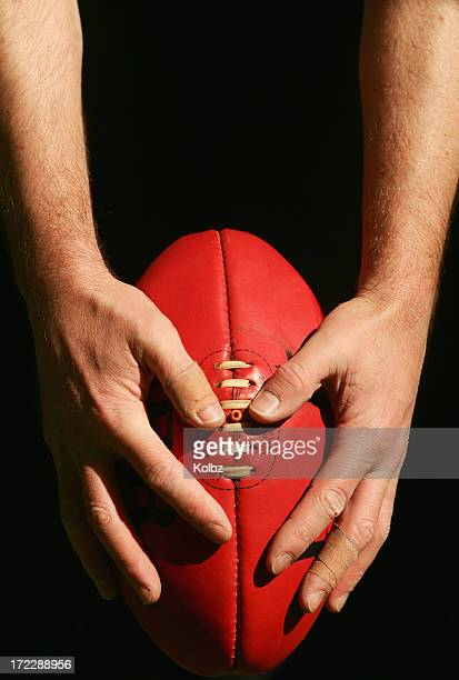 Hands on AFL Ball