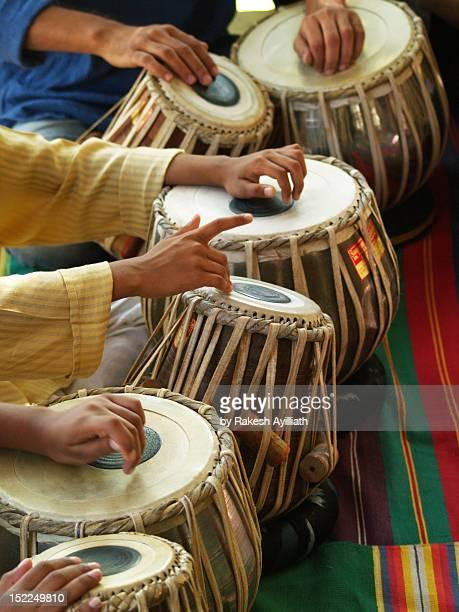 Hands on tabla