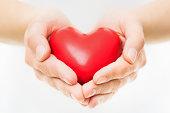 Hands Presenting Heart