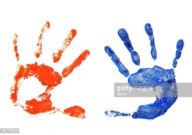 Mãos de Impressão