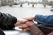 hands stacked on each other