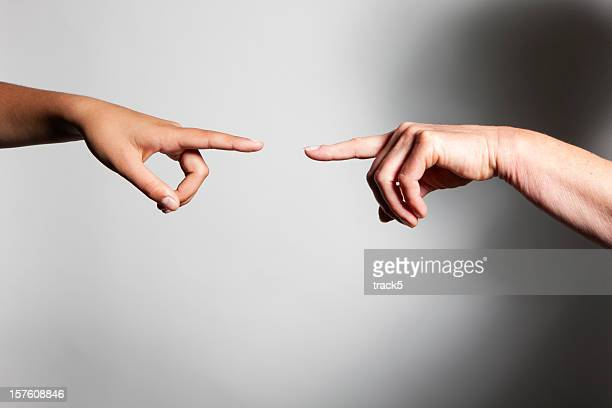 Hände: Die Erschaffung Adams
