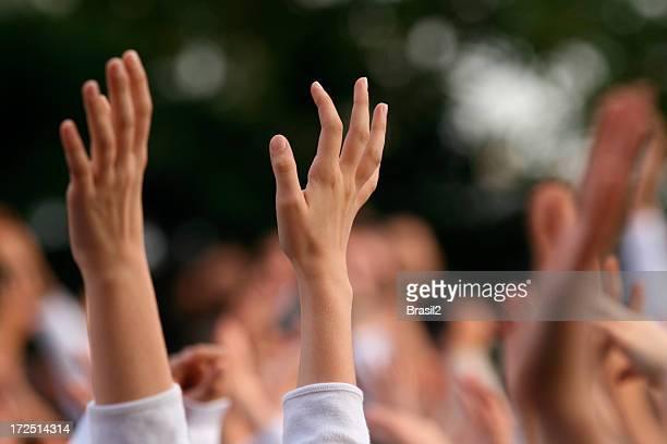 Hände hoch
