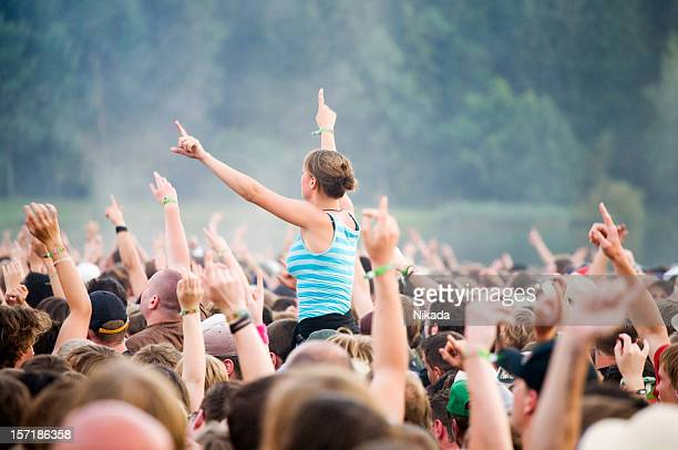 hands up - rock festival