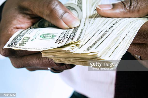 Hands with Money Series