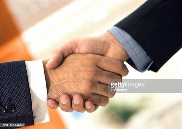 Handshake, close-up